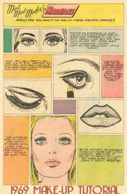 makeup lesson for the hippie from 1969