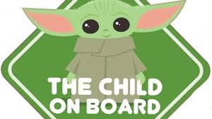 Baby Yoda On Board Car Window Decals Have Officially Arrived