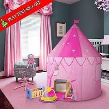 Pop Up Kids Play Tent House For Girls Tunnel Indoor Children Best Gift Pink New 1914542719