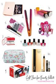 gift ideas for beauty addicts