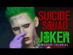 the joker makeup tutorial squad