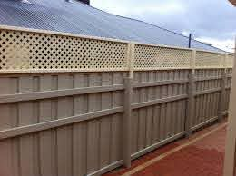 Fence Extensions Perth Lattice Fence Extension Perth Backyard Privacy Backyard Fences Lattice Fence