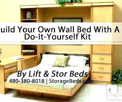 build a bed building murphy diy kit