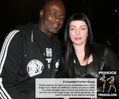 K1 Legend Mr Ernesto Hoost and Hairdressing's Miss Perfect Adele Robinson -  Kickboxing School of Excellence teaches ThaiBoxing, fitness and stages  Martial Arts Events - Prokick