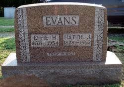 Effie H. Evans (1878-1954) - Find A Grave Memorial