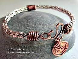 zoraida bronze viking knit bracelet