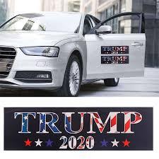 Auto Stickers Graphics Decals Creative Car Stickers Bumper 2020 President Campaign 10pcs Donald Trump Car Stickers Aliexpress