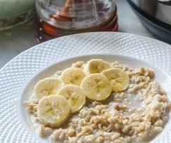 instant pot oatmeal using regular oats