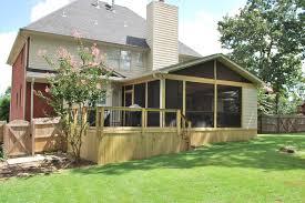 birmingham al deck and screened porch