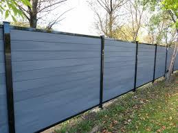 Composite Fences Residential Fences In Vaudreuil Dorion Inter Clotures Jermar