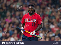 May 04, 2019 Houston Texans offensive guard Zach Fulton (73) during the JJ  Watt Charity Classic,
