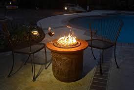 diy make a portable propane fire pit