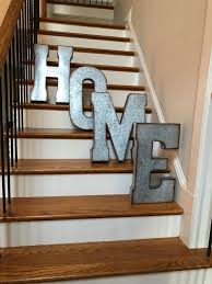 extra large metal letters wall