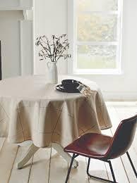 mason plaid tablecloth 70 round