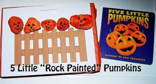Jack O Lanterns And 5 Little Pumpkins
