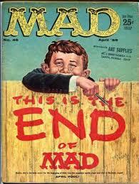 mad magazine will publish its