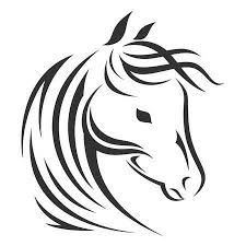 Paard Tattoo Vectoren Illustraties En Clipart 123rf