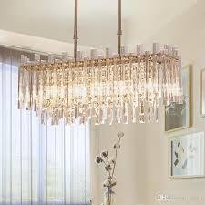 modern luxury led chandelier high