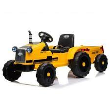 kids ride on tractor in battery