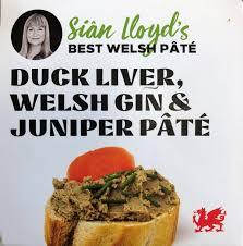 siân lloyd s duck liver welsh gin