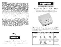 Dogwatch R8 Operating Instructions Manualzz