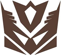Amazon Com Wild Dingos Llc Decepticon G1 Transformers Vinyl Decal Sticker Brown Kitchen Dining