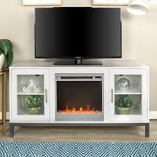 52 inch avenue wood fireplace tv