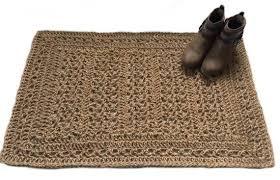 natural fiber jute rug jute rope rug
