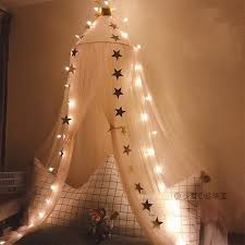 Light Up Kids Canopy Bed Canopy Hanging Play Tennursery Etsy