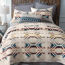 pendleton white sands southwest quilted