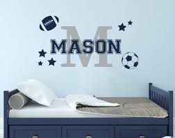 Boys Sports Decals Etsy