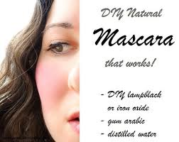diy natural edwardian mascara recipe