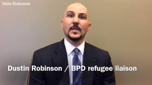 BPF Police Refugee Liaison Dustin Robinson - YouTube
