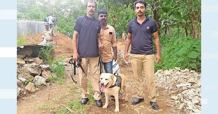 """Image result for sniffer dog jeni kerala murder"""""""