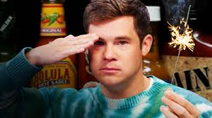 Watch Adam Devine on the Hot Ones   First We Feast