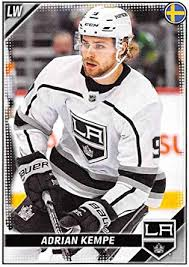 Amazon.com: 2019-20 Topps Album NHL Stickers Hockey #231 Adrian Kempe Los  Angeles Kings Official 1.5 Inch Wide X 2.5 Inch Tall Album Stick:  Collectibles & Fine Art
