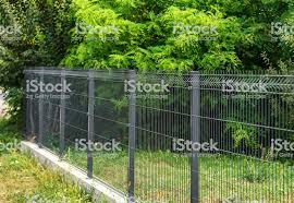 Grating Wire Industrial Fence Panels Stock Photo Download Image Now Istock