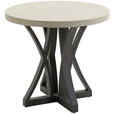 round patio end table