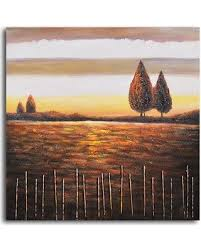Amazing Deal On My Art Outlet Beyond The Stick Fence Painting Print On Wrapped Canvas M 5242