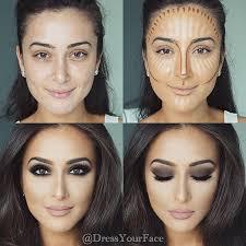 contouring técnica de maquillaje paso