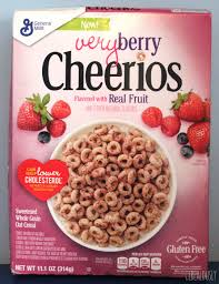 review very berry cheerios cereal