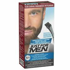 Just For MEN M35 Moustache and Beard Facial Hair Color - Medium Brown for  sale online | eBay