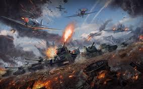 تحميل خلفيات الحرب الرعد الدبابات المقاتلين Sau الحرب العالمية