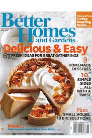better homes gardens november 2016