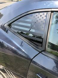 American Flag Quarter Window Decal 2010 15 Chevy Camaro Elevated Auto Styling