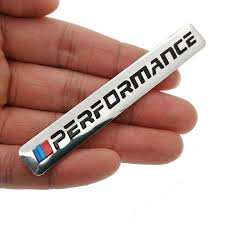 1pcs Car Decal Logo Badge Auto Accessories Sticker M Power Performance Carbon Styling