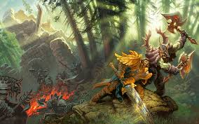 world of warcraft wow warcraft fight hd