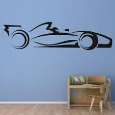 F1 Race Car Transport Wall Decal Sticker Ws 17859 Ebay