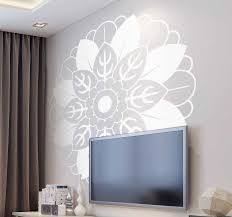 Floral Mandala Wall Decal Tenstickers