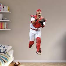 Yadier Molina St Louis Cardinals Fathead Player Wall Decal Walmart Com Walmart Com